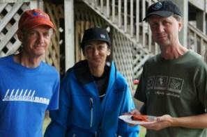 Gordon, Mitra and Mark