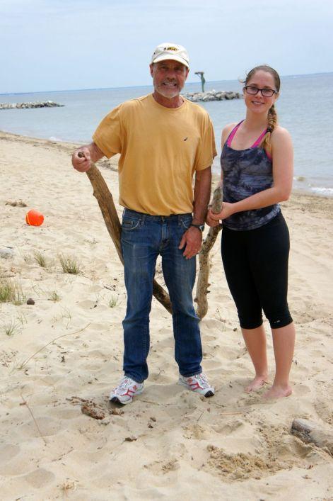 Kiteboarders Joe Boyle and Cassie Boyle