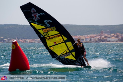 Alberto Menegatti at the 2013 PWA Catalunya World Cup