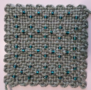 Beaded Square