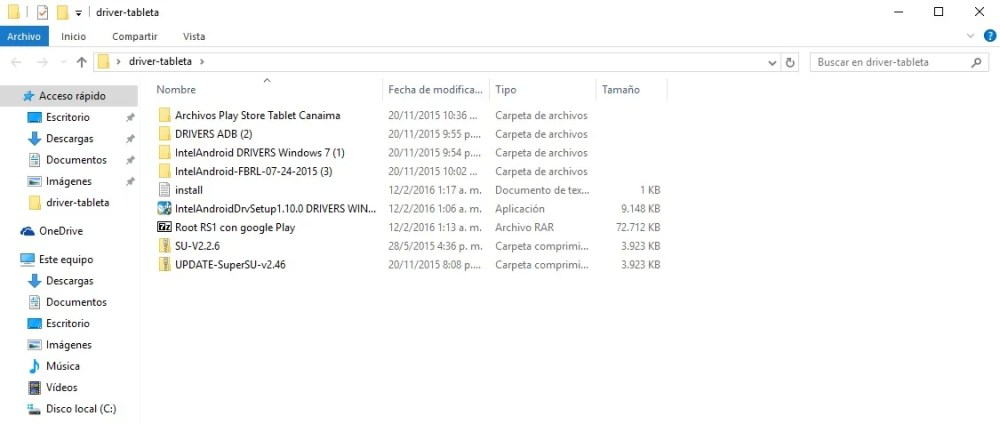 Tableta Canaima TR10CS1 01