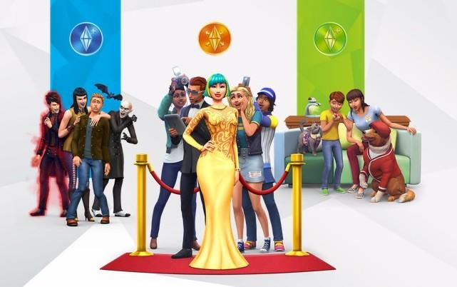 Los Sims 4 social