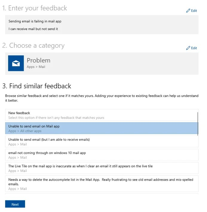 Build 18922 win10 feedback hub insider