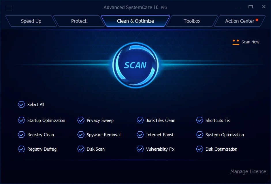 limpiadores optimizadores windows systemcare 10