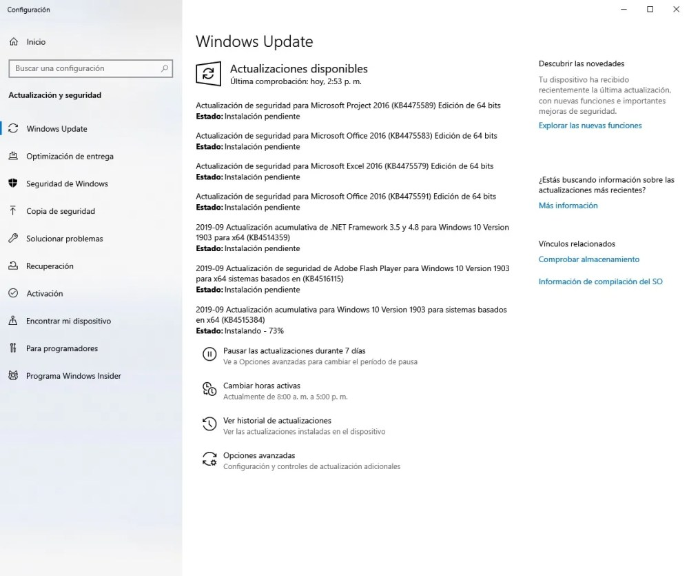 KB4515384 windows update