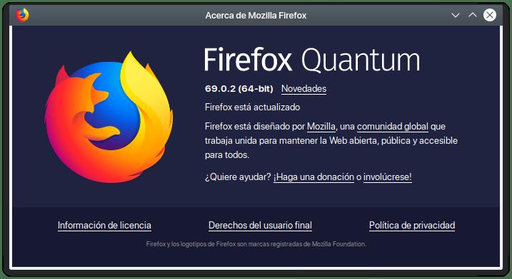 firefox quantum 69.0.2