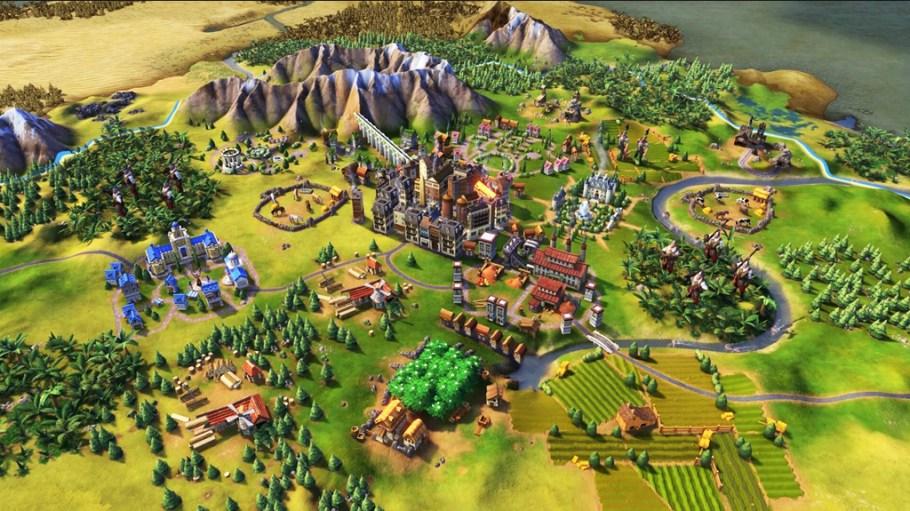 Civilization 6 mapa