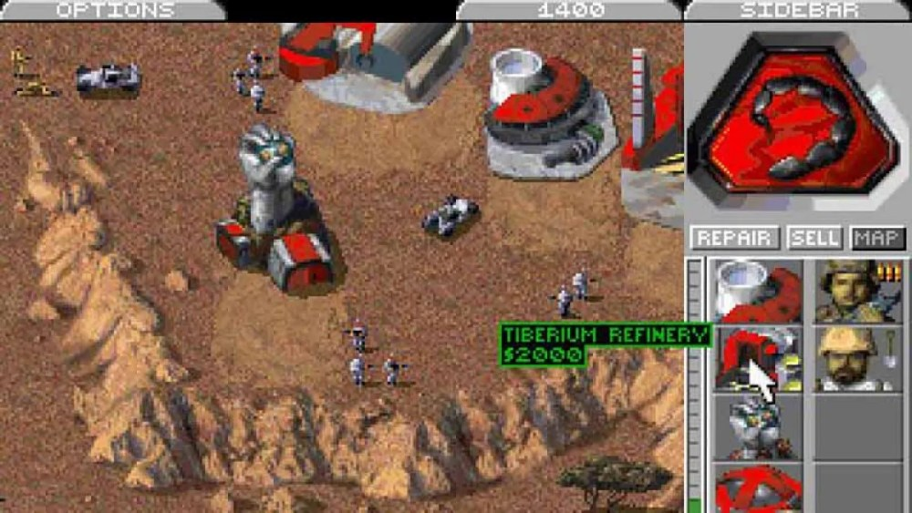 código fuente Command and Conquer