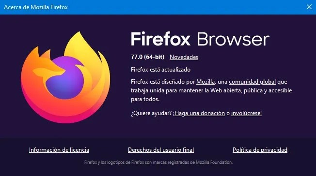 firefox browser 77