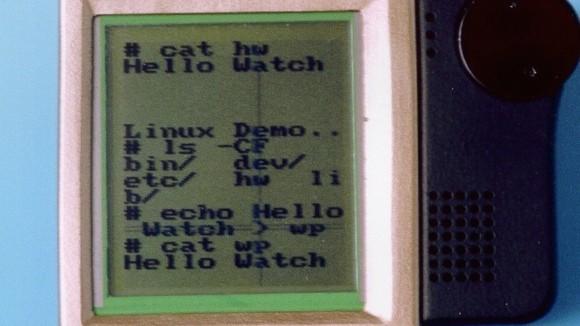 Linux Wristwatch