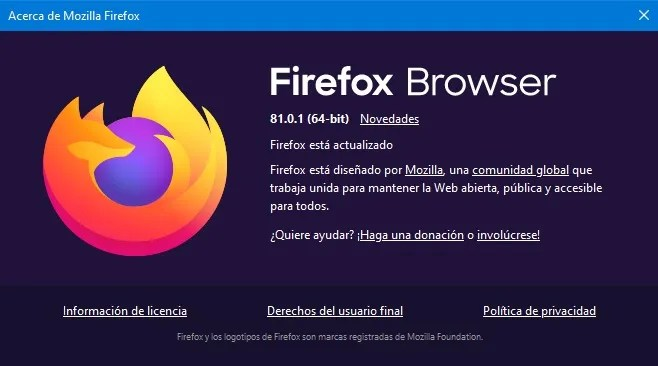firefox browser 81.0.1