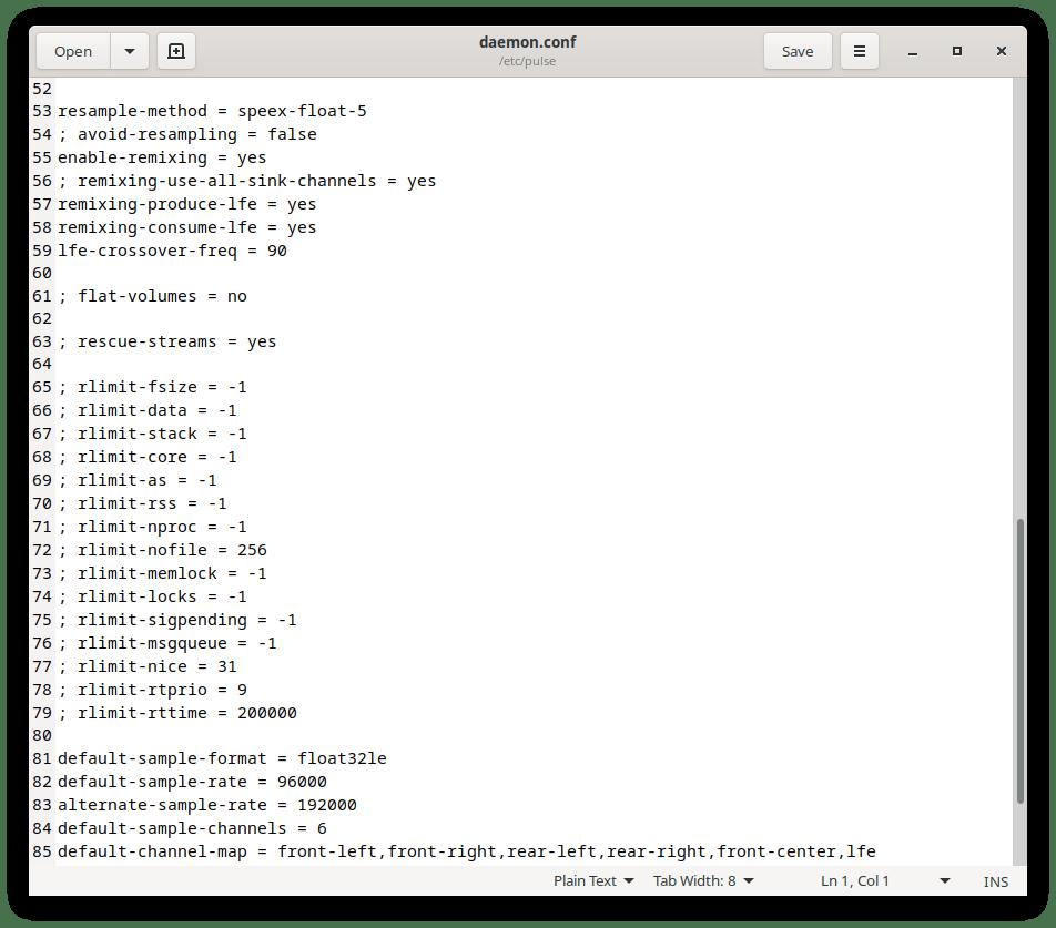 configuracion pulseaudio sonido surround ubuntu 20.04