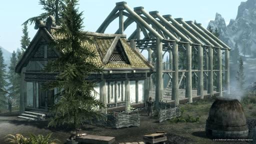 casas en The Elder Scrolls V