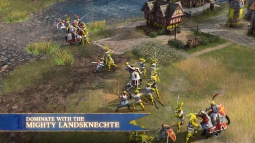 landsknechte age of empire iv