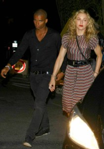 Madonna and her 24 year old beau Brahim enjoy an intimate dinner out at The Colombe D'Or  at Eden Roc in France