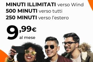 Promozione estero Varese Wind per clienti stranieri con giga e minuti a soli 9,99€ al mese