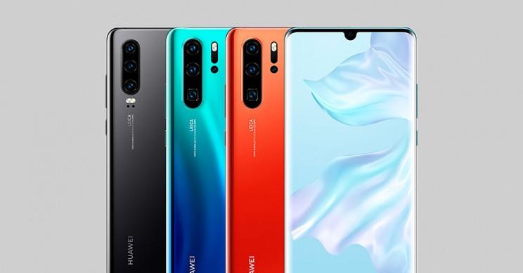 Huawei P30 Pro varie colorazioni