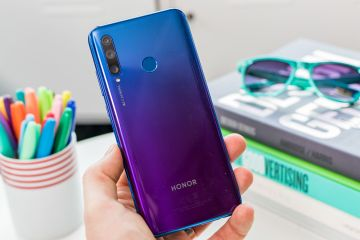 Honor 20 Lite retro