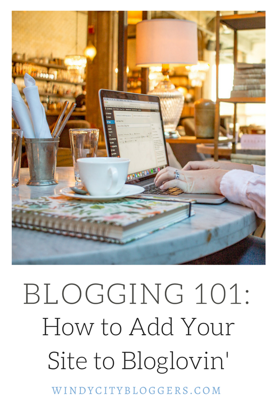 Blogging Basics: How To Add Your Site To Bloglovin'