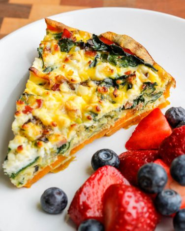 Ham-Leek-and-Feta-Sweet-Potato-Crust-Quiche-7-823x1024
