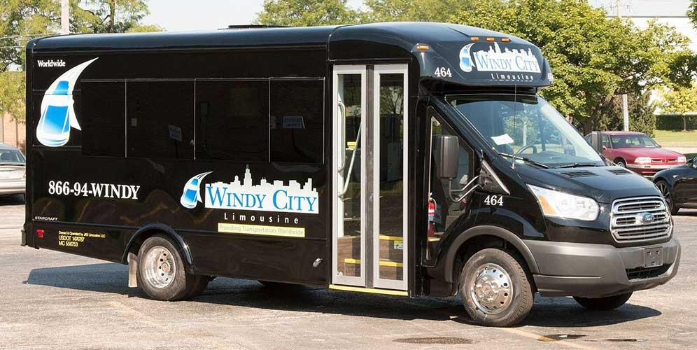 14 Passenger Bus