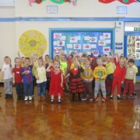Eurovision at Windy Nook Primary School