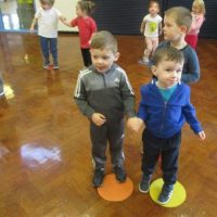 Nursery and Ladybirds Enjoy Zumba!!