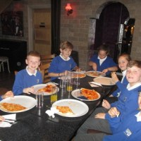 Mama Mia! Y6 Celebration Lunch at Rosa 12.