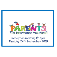 Reception Parent Meeting
