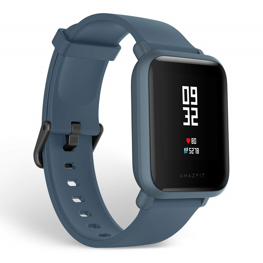 Amazfit BIP Lite 3ATM Smart Watch (Blue)