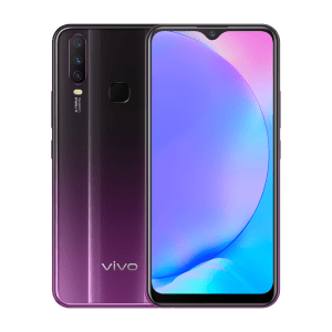 Vivo Y17 (Mystic Purple, 4GB RAM, 128GB Storage)