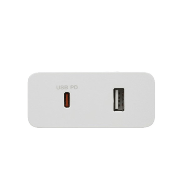 SONY 45W TYPE-C ADAPTER DUAL PORT [CP-ADRM2, WHITE]