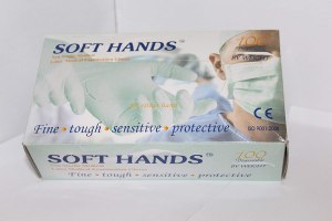 Softhands Non Sterile Latex Medical Examination...