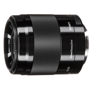 Sony SEL-50F18 E 50 mm F1.8 OSS (Black)