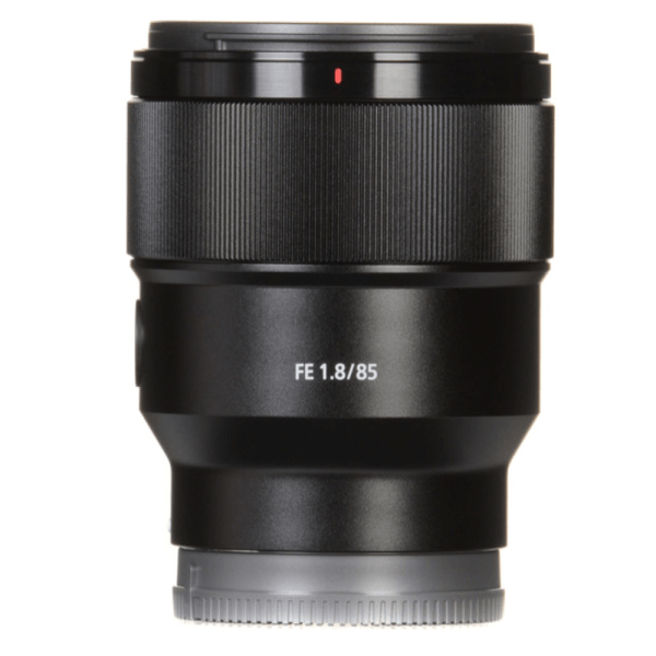 Sony SEL-85F18 FE 85mm F1.8 Lens (Black)