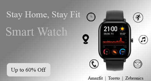 Smart Watch below 2000