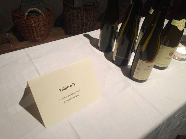 Tasting according to terroir