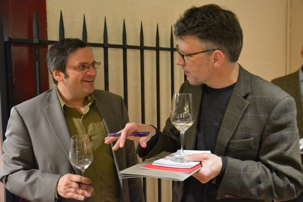 With wine writer Adam Lechmere