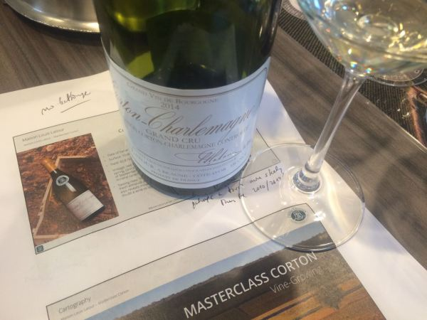 master class with bottle