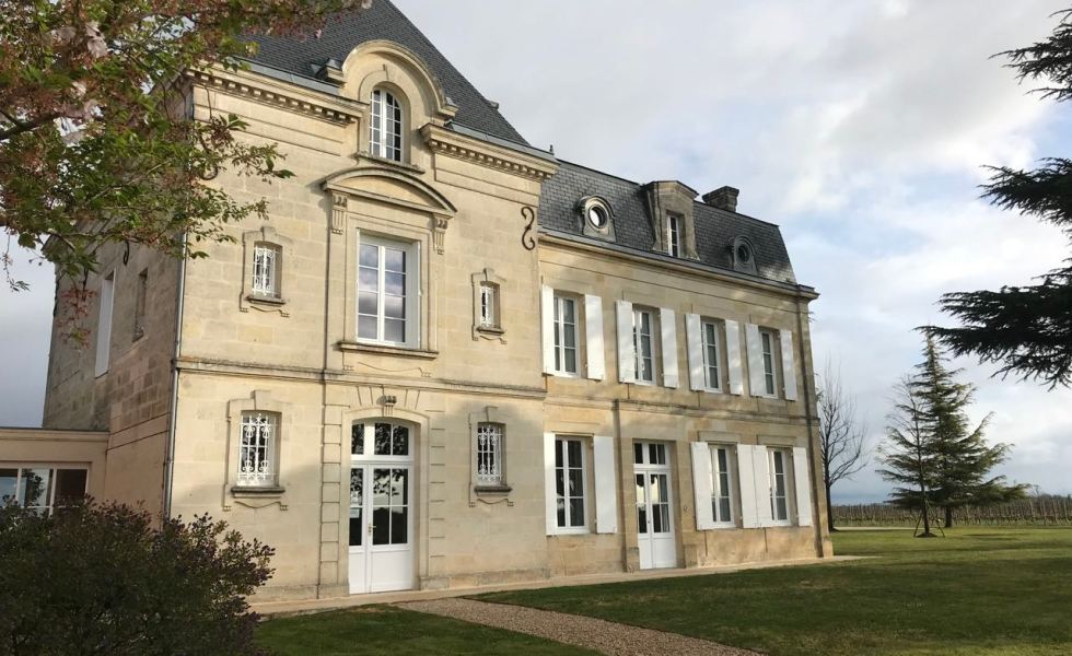 The gorgeous Château Evangile