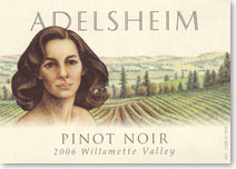 Adelsheim Willamette Valley Pinot Noir 2005