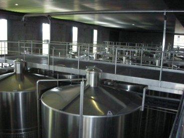 red wine cap fermentation pulsair