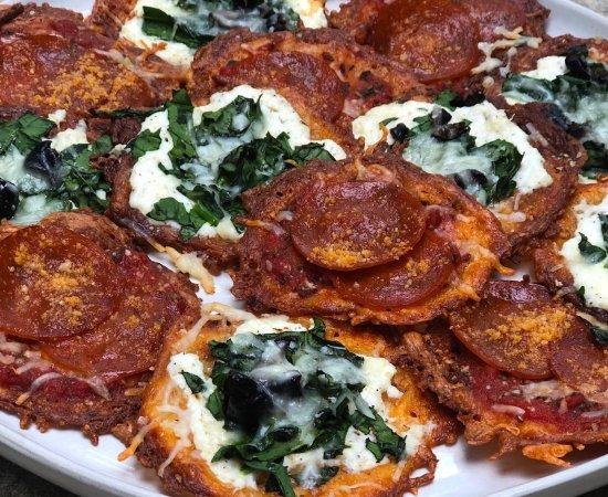 Easy Keto Pizza Snack Chips