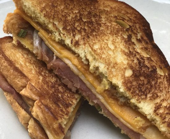 Gourmet Pumpkin Butter Grilled Cheese with Prosciutto