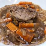 easy slow cooker apple cider pork tenderloin