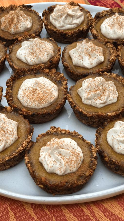 homemade vegan pumpkin pie with gluten free crust