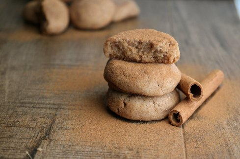 Chai Spice & Brown Butter Snickerdoodle Cookies are soft and chewy. Perfect holiday baking Christmas Cookies