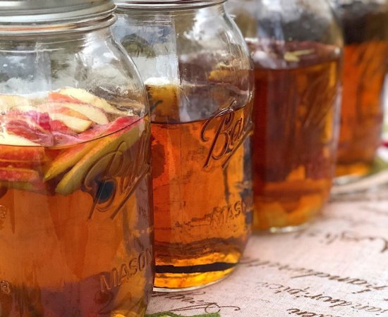 DIY Infused Whiskey Bourbon