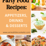 A collage of pictures for Kentucky Derby recipes