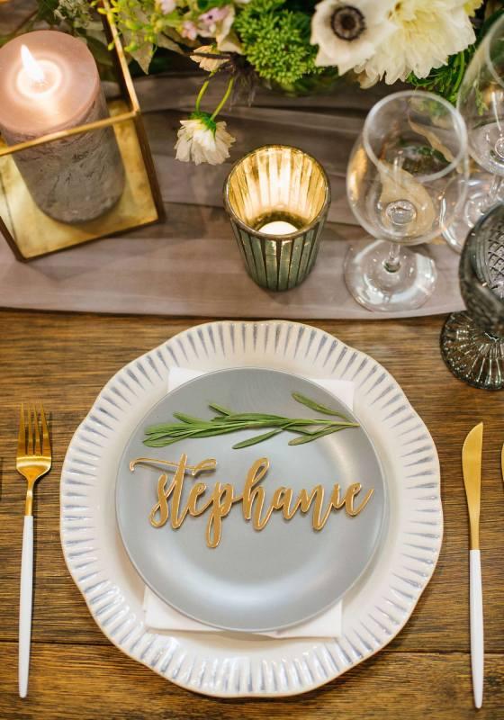 Wedding Decor, Place Settings, Wedding Place Settings, Name Plates, Wedding Table Setting, Blue Decor, Virginia Wedding, Blue and White China